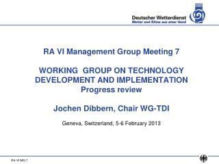 Geneva, Switzerland, 5-6 February 2013