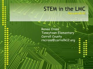 STEM in the LMC