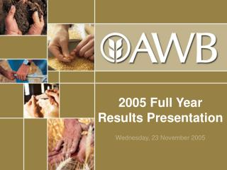 2005 Full Year Results Presentation