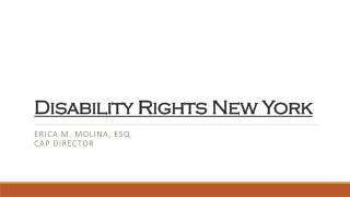 Disability Rights New York