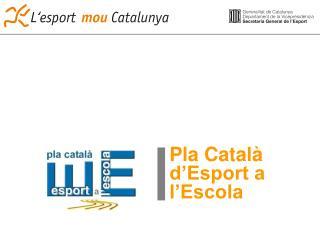 Pla Català d'Esport a l'Escola