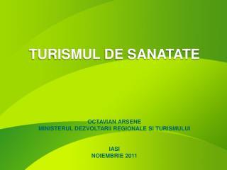 TURISMUL  DE SANATATE