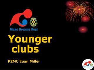 Younger clubs PZMC Euan Miller