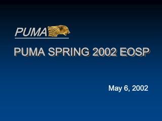 PUMA SPRING 2002 EOSP