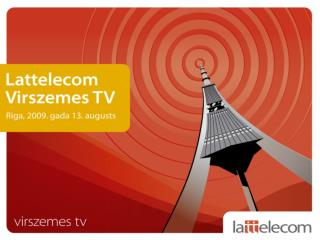 K?p?c tiek ieviesta Virszemes TV?