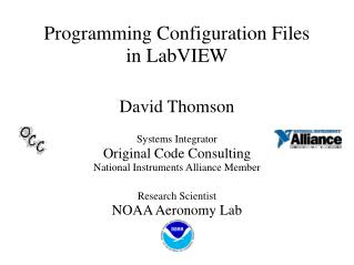 Programming Configuration Files in LabVIEW