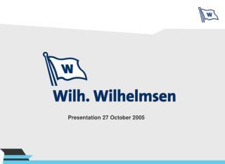 Presentation 27 October 2005