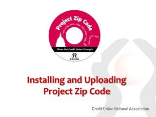 Installing and Uploading Project Zip Code