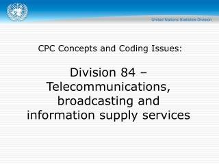 CPC Concepts and Coding Issues: