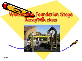 Welcome to Foundation Stage Reception class