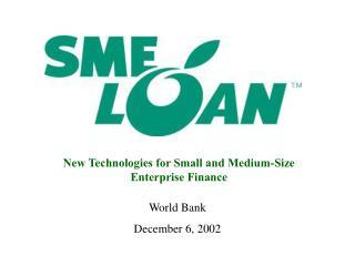 World Bank  December 6, 2002