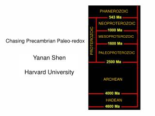 Chasing Precambrian Paleo-redox