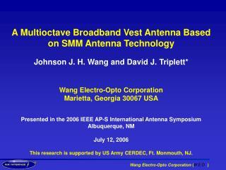 Wang Electro-Opto Corporation