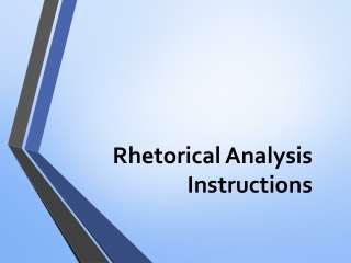 Rhetorical Reading and Writing-Author s Purpose   Pt 1