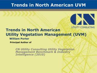 Trends in North American UVM