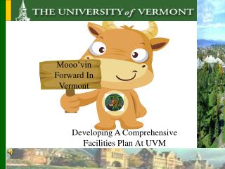 Mooo�vin Forward In Vermont