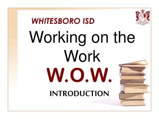 WHITESBORO ISD