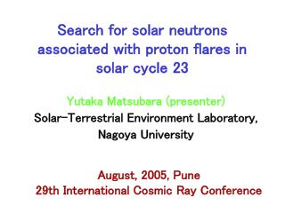 Search for solar neutrons associated with proton flares in solar cycle 23