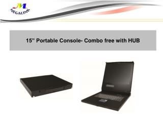 "15"" Portable Console- Combo free with HUB"