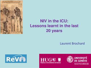 NIV in the ICU:  Lessons learnt in the last  20 years