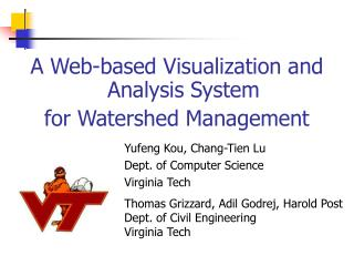 A Web-based Visualization and Analysis System  for Watershed Management