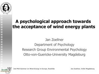 Acceptance  of wind energy plants -