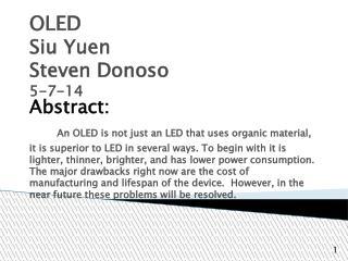 OLED Siu Yuen Steven Donoso 5-7-14
