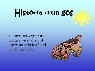 Història d'un gos