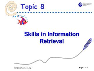 Skills in Information Retrieval