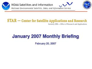 January 2007 Monthly Briefing February 20, 2007