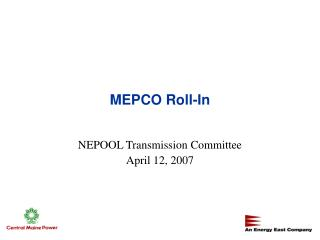 MEPCO Roll-In