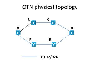 OTN physical topology