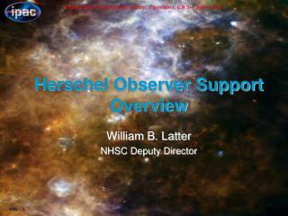 Herschel Observer Support Overview