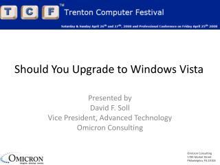 Should You Upgrade to Windows Vista