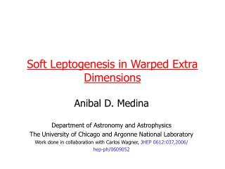 Soft Leptogenesis in Warped Extra Dimensions