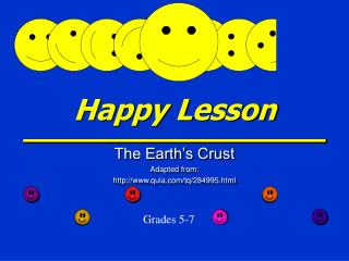 Happy Lesson
