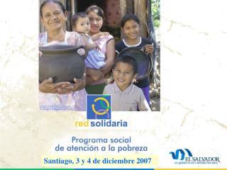 Santiago, 3 y 4 de diciembre 2007