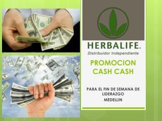PROMOCION CASH CASH