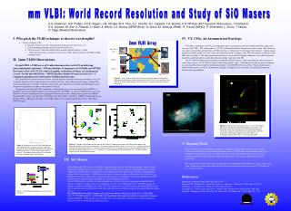 mm VLBI: World Record Resolution and Study of SiO Masers