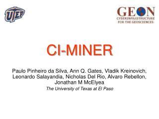 CI-MINER