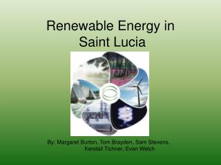 Renewable Energy in  Saint Lucia