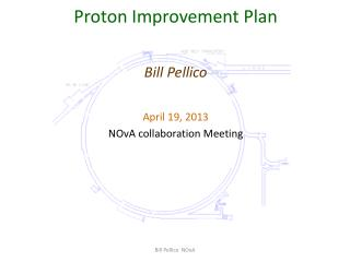 Proton Improvement Plan Bill Pellico April 19, 2013 NOvA  collaboration Meeting