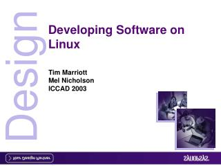 Developing Software on Linux