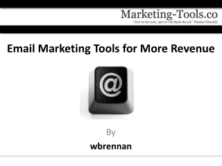 Email Marketing Tools for More Revenue