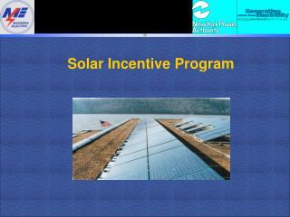 Solar Incentive Program