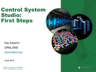 Control System Studio: First Steps