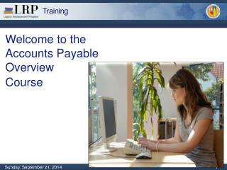 Welcome to the Accounts Payable Overview  Course