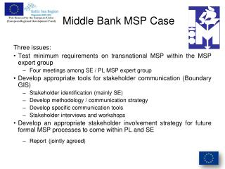 Middle Bank MSP Case