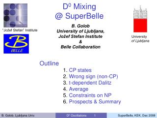 D 0  Mixing @ SuperBelle
