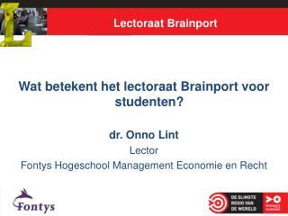 Lectoraat Brainport